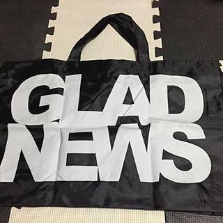 新品GLAD NEWS エコバッグ