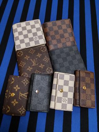 二つ折り短財布とキーケースのセット☆いずれか1セット