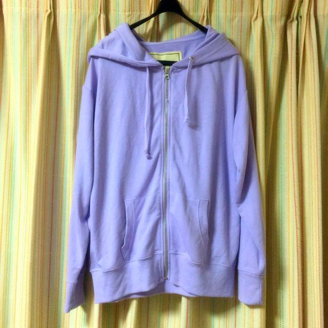 パーカー 紫