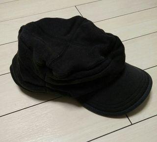 57㎝~帽子ミリタリーキャップ キャスケット