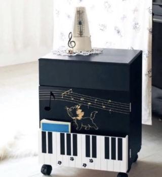 ピアノワゴン<低ホルマリン>