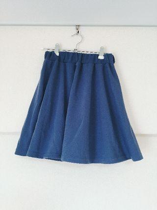 archivesブルー色スカート