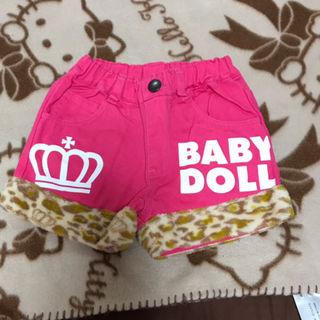 BABY DOLLヒョウ柄ショートパンツ90