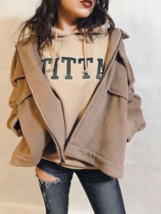 【GYDA】Wフェイスオーバーサイズジャケット