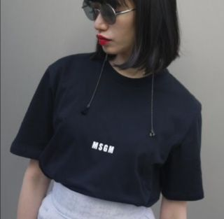 MSGM ミニロゴ Tシャツ 国内発送
