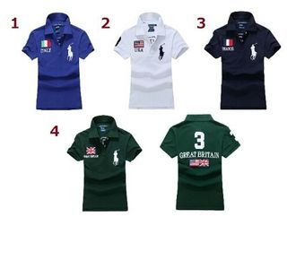 ポロ ラルフローレンポロシャツ男女兼用4色高質新品