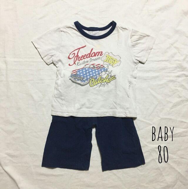 ベビー  半袖パジャマ