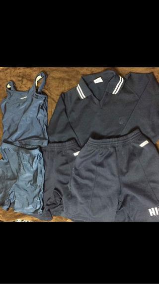 中学生の水着 体操服
