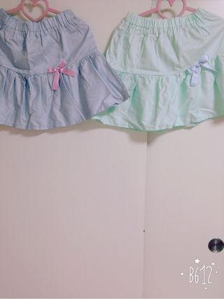 ナイルパーチ ペア スカート