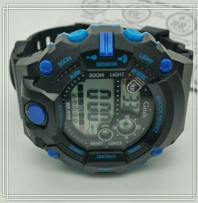 腕時計 デジタル 多機能 LED ウォッチ メンズ キッズ