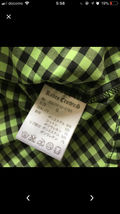 ロデオの半袖チェックシャツ!