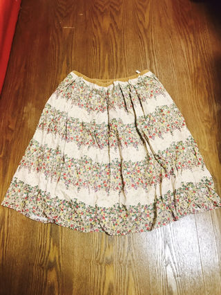 OLIVE des OLIVE 花柄スカート