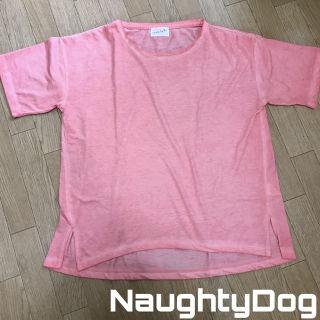 NaughtyDog ヴィンテージ加工 半袖Tシャツ