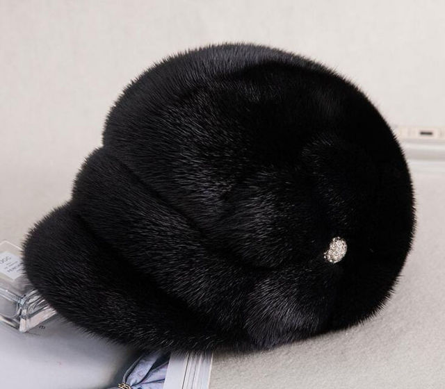 HT-M-05 ミンクファー ハット レディースミンク帽子(その他 ) - フリマアプリ&サイトShoppies[ショッピーズ]