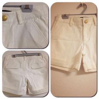 新品 ホワイト パンツ*