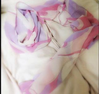 radyマーブル柄スカーフ