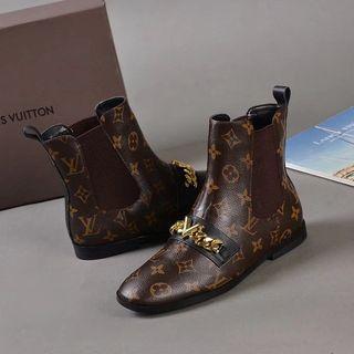 冬売り筋人気 レディース ルイヴィトン ブーツ 長靴