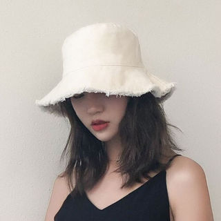 【ベージュホワイト】ハット 帽子 レディース UVカット