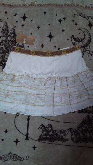 Smork刺繍スカートタグ付