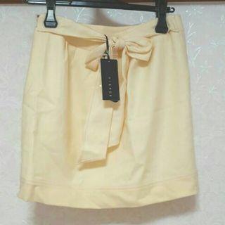 VIERGE新品バックリボンコクーンスカート