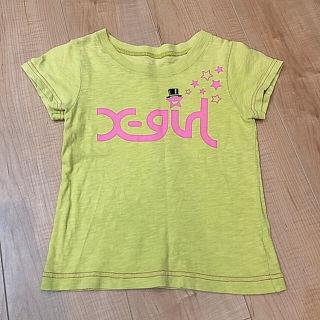 【110cm】x-girl エックスガール Tシャツ