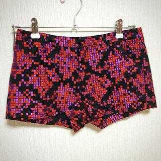 【美品】LeCielBleu 刺繍ショートパンツ