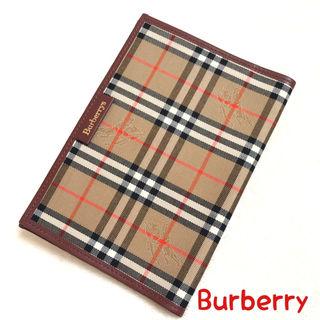 BURBERRY バーバリー ブックカバー チェック 正規品