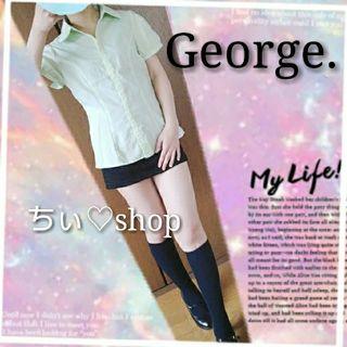 George.のブラウス