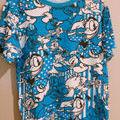 Disney 総柄  Tシャツ