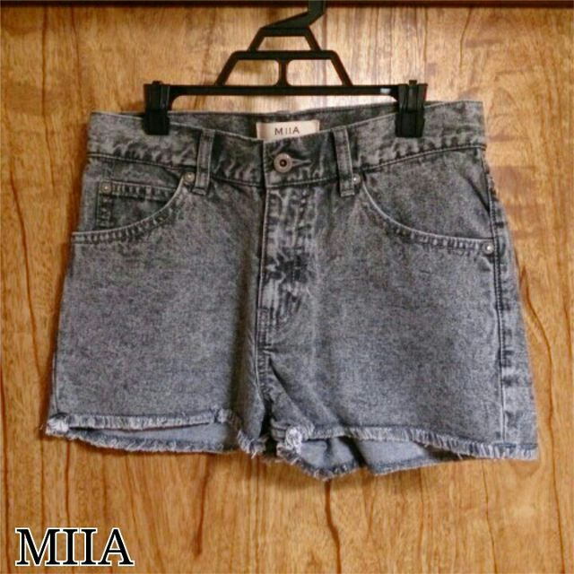 MIIA*デニムショートパンツ(MiiA(ミーア) ) - フリマアプリ&サイトShoppies[ショッピーズ]
