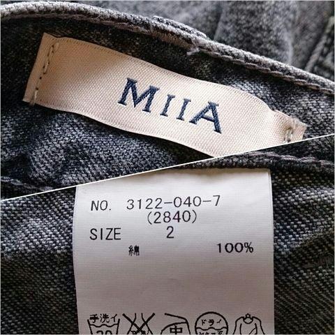 MIIA*デニムショートパンツ