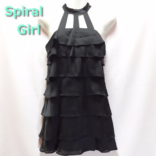 美品◆ SpiralGirl ★フリルドレス ワンピース