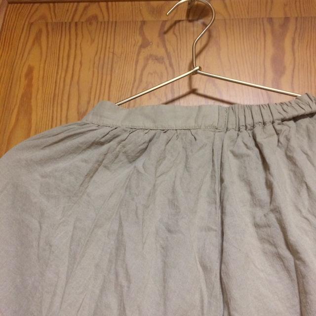 honeys 新品未使用 綺麗めブラウンロングスカート