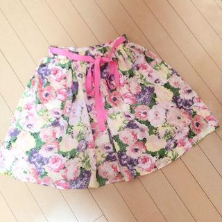 ADREE アドリー 花柄 スカート