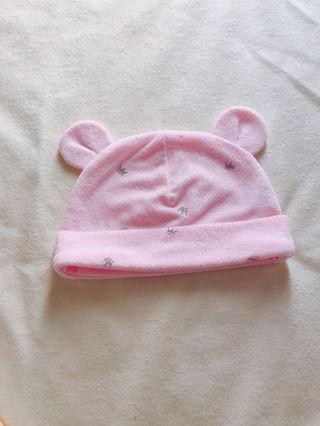 ベビー帽子 (女の子)