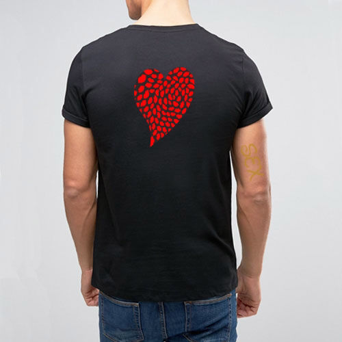 ライズリヴァレンス リップハート フィールラブ Tシャツ b
