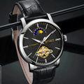 11箱付き全針稼動の本格 高級時計 自動巻き メンズ