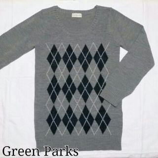 Green Parks*アーガイルニット