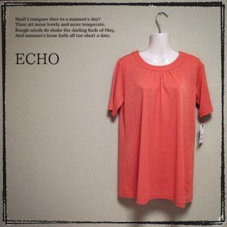 【ECHO】新品 チュニック