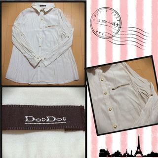 DouDou サテンシャツ美品