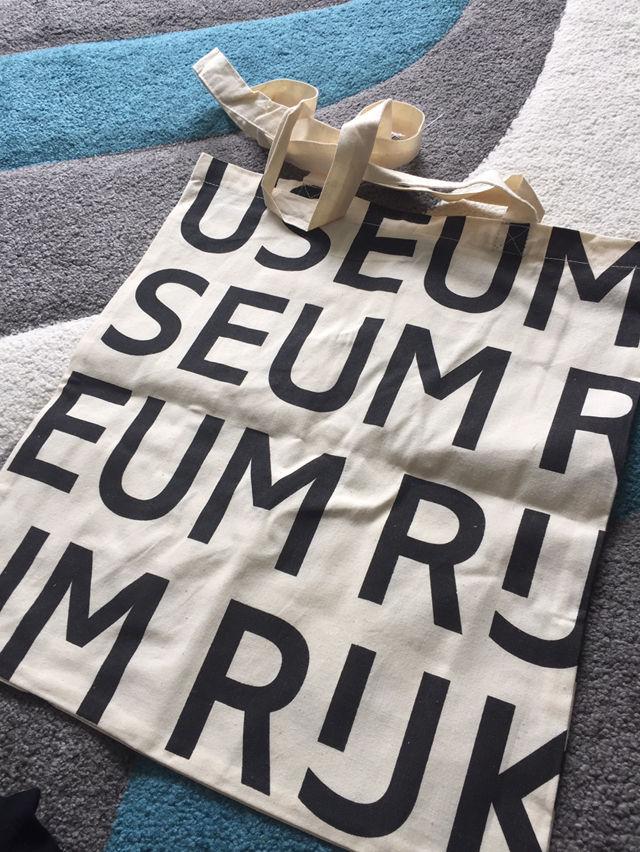 新品 アムステルダム トートバッグ オランダ 美術館