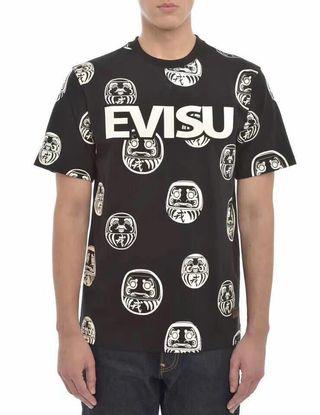 注目された美品 EVISU Tシャツ男女兼用 色選択可