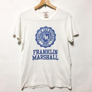 フランクリン&マーシャル プリント Tシャツ