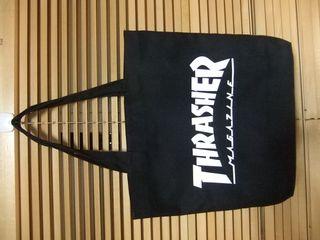 【新品】THRASHER スラッシャーキャンバストートバッグ