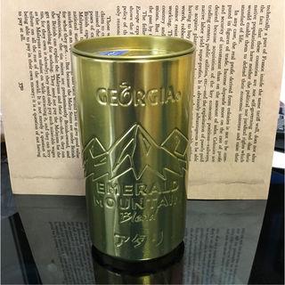 ジョージア 缶型スピーカー 限定品