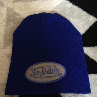 期間限定出品 新品 値札付き Vondutch ニット帽