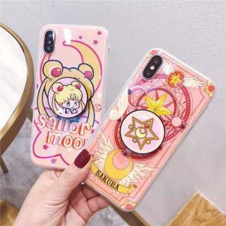 iphoneカバー カードキャプターさくら セーラームーン