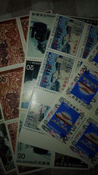 記念切手2000円分(20円切手×100枚)普通郵便送料込⑫