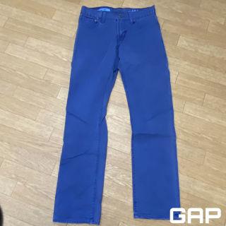 GAP カラーパンツ スリムパンツ メンズ