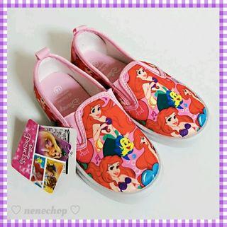 アリエルスリッポン18cmディズニー靴新品